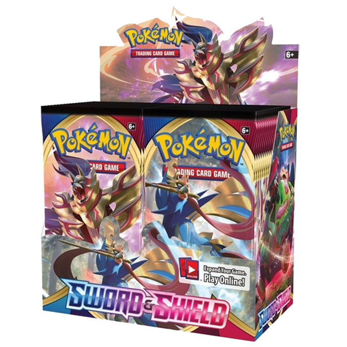 Pokemon TCG SWORD AND SHIELD Expansion, 36 Pack Booster Box