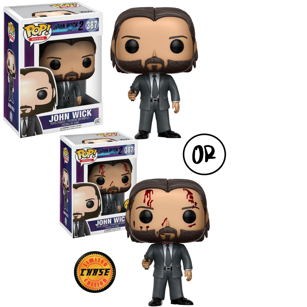 John Wick: Chapter 2 - John Wick Pop! Vinyl Figure