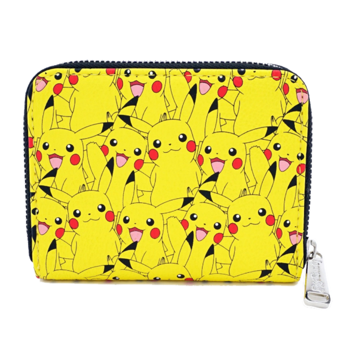 POKEMON PIKACHU AOP ZIP AROUND WALLET