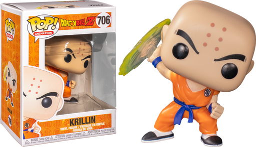 Krillin with his Destructo Disc