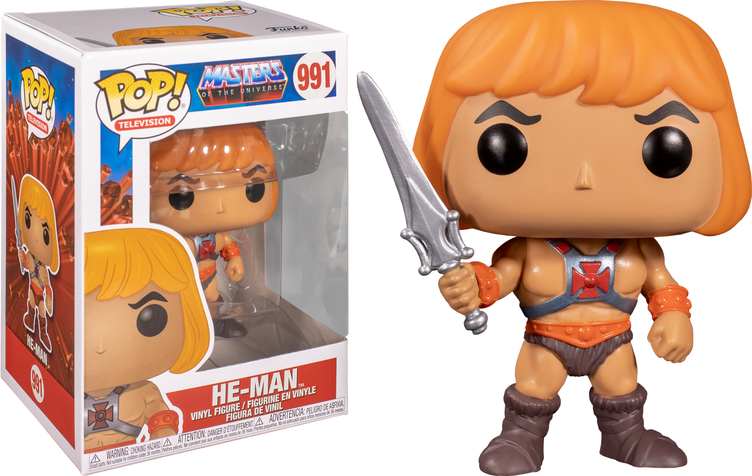 He-Man - Masters of the Universe Pop! Vinyl Figure