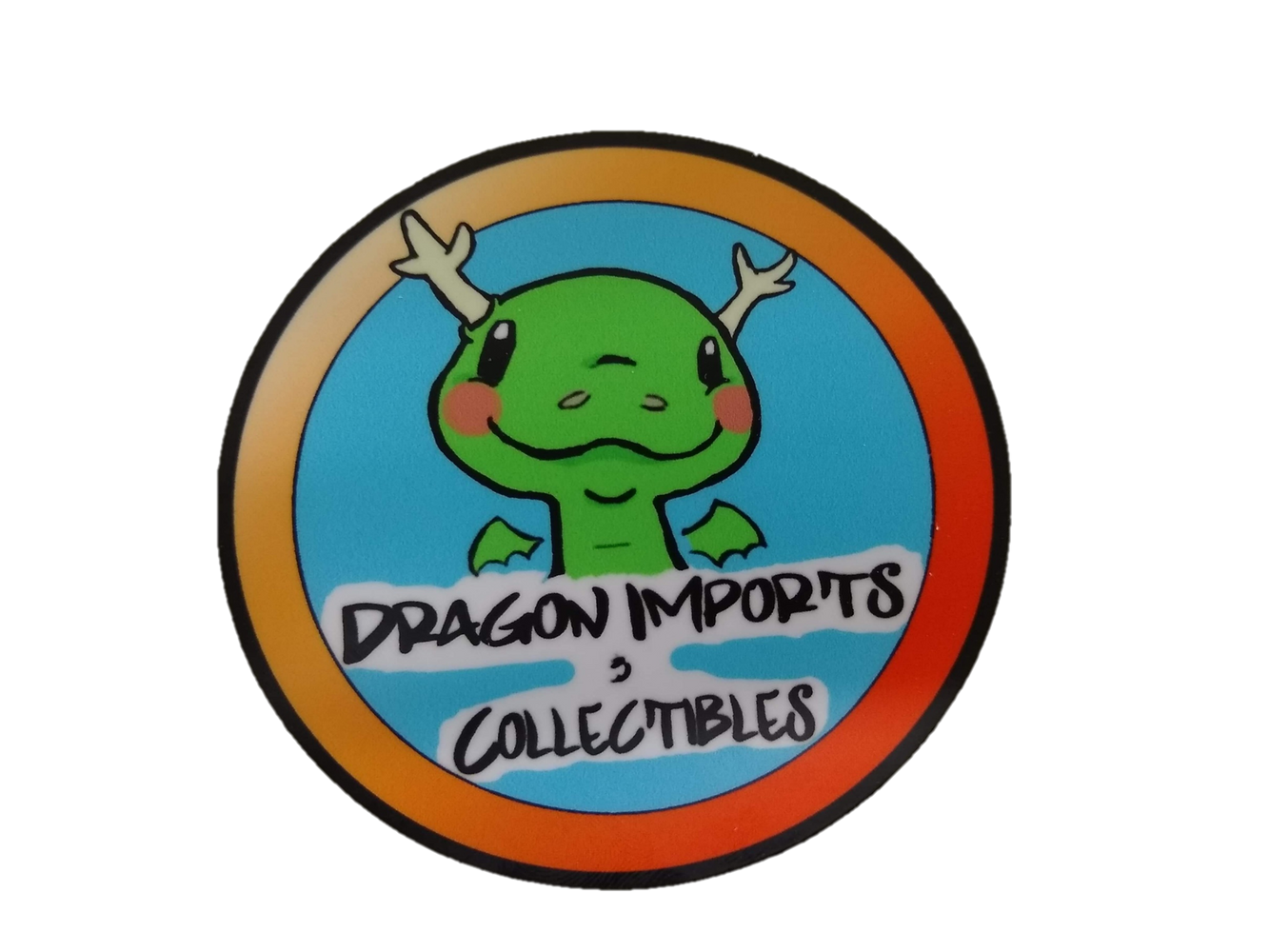 Dragon Imports Logo Stickers!