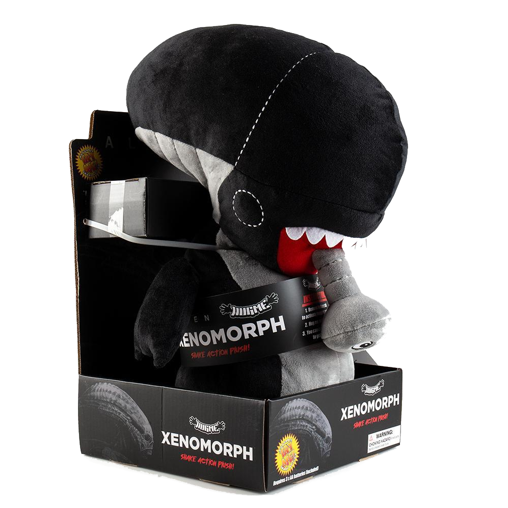 ALIEN XENOMORPH HUGME VIBRATING PLUSH BY KIDROBOT