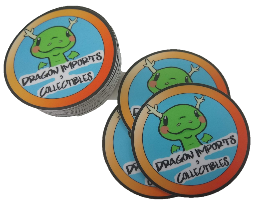 Dragon Imports Logo Stickers! 2