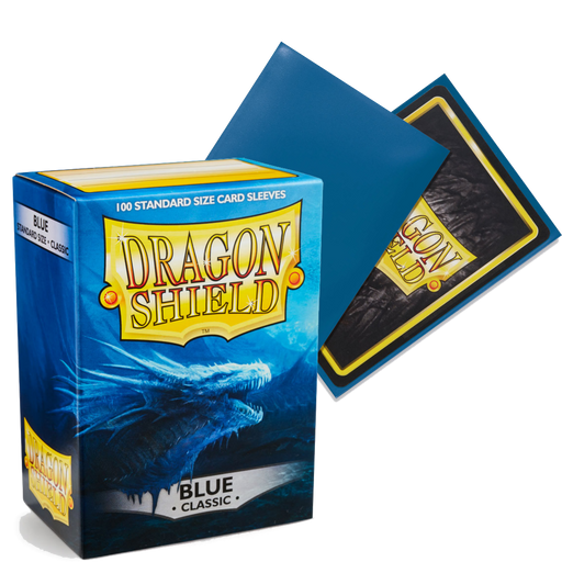 (Blue)Dragon Shield Card Protectors sleeves