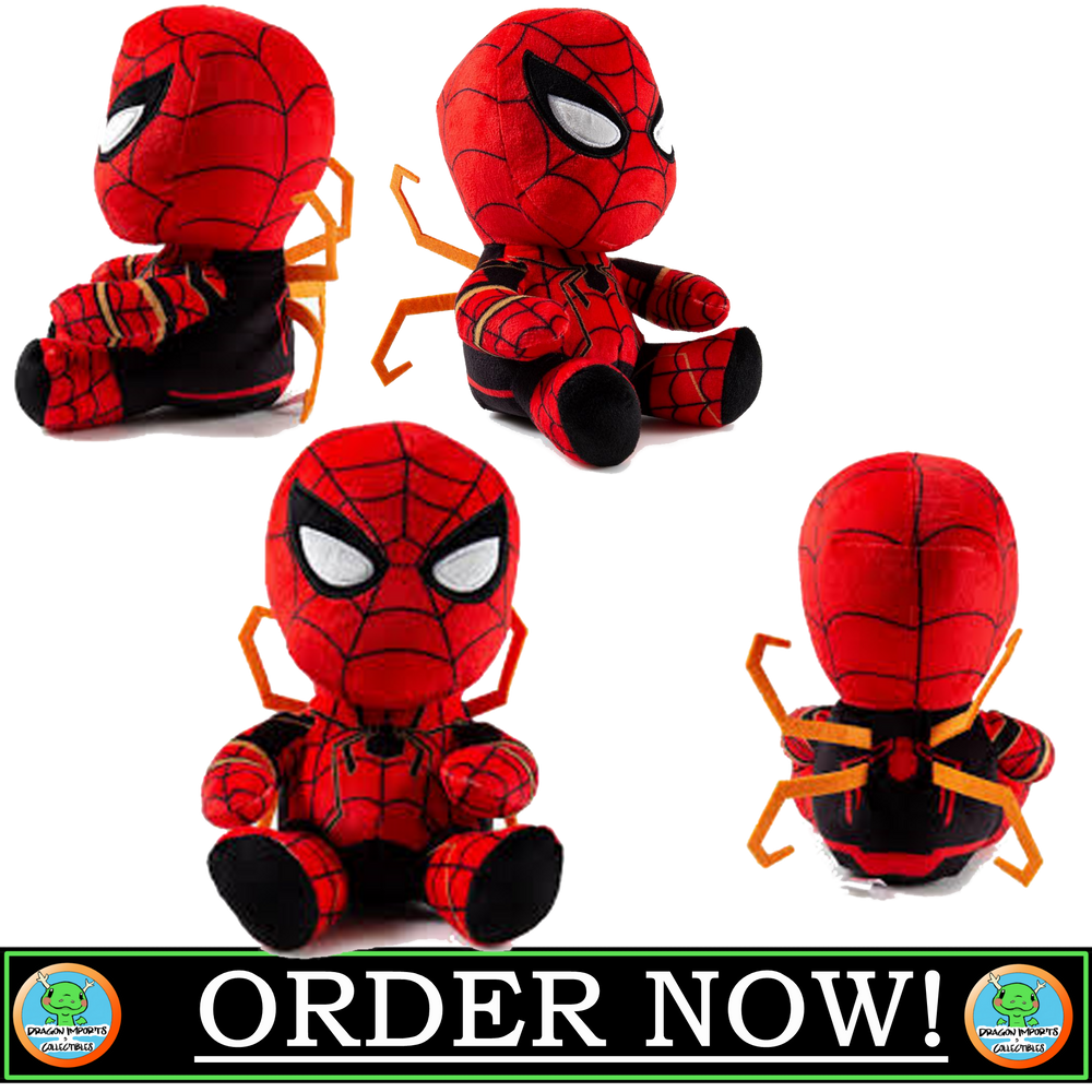 SPIDER-MAN PHUNNY PLUSH BY KIDROBOT - AVENGERS INFINITY WAR