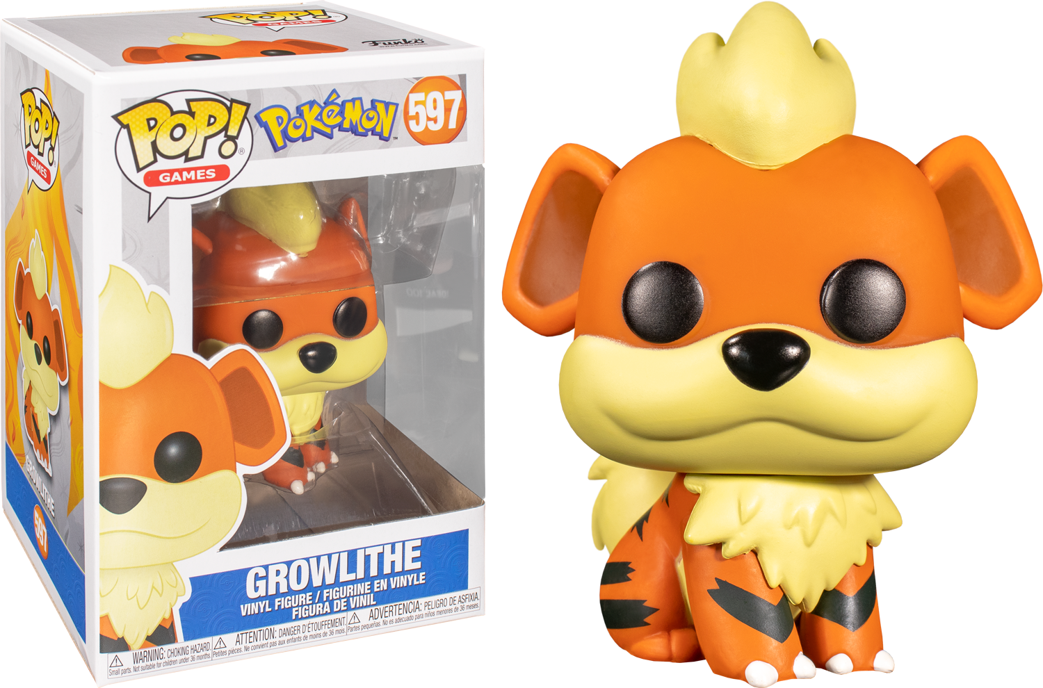 Growlithe - Funko Pop Games: Pokémon