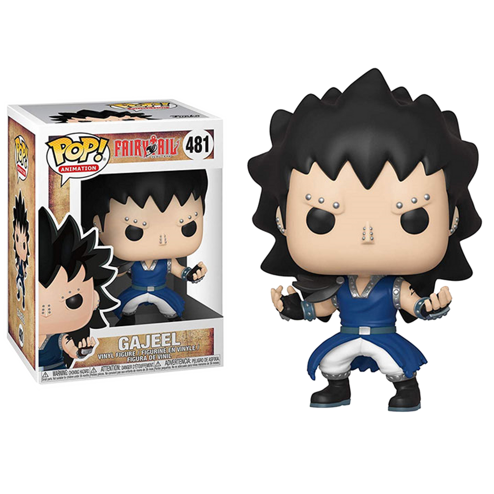 Gajeel -  FAIRY TAIL FUNKO POP! ANIMATION  VINYL FIGURE