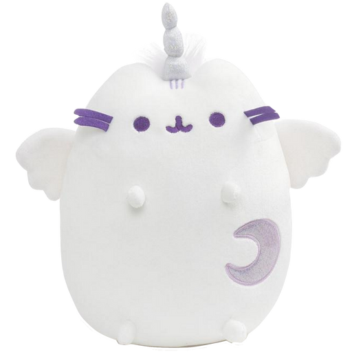 SUPER PUSHEENICORN PUSHEEN UNICORN CAT PLUSH, WHITE, 9 IN