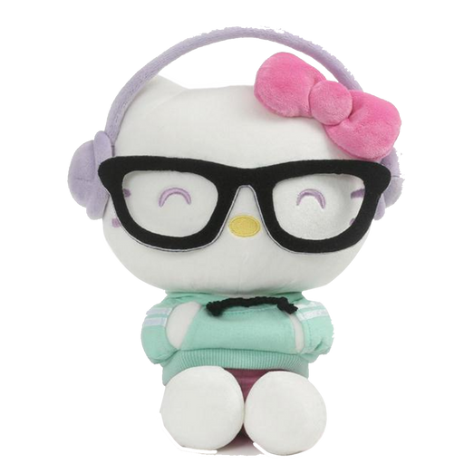 HELLO KITTY KAWAII STYLE, 9.5 IN - by: Gund