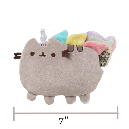"PUSHEENICORN COIN PURSE, 7"" - Pusheen"