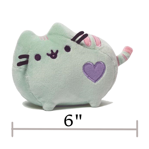 "PASTEL GREEN, 6""- Pusheen"
