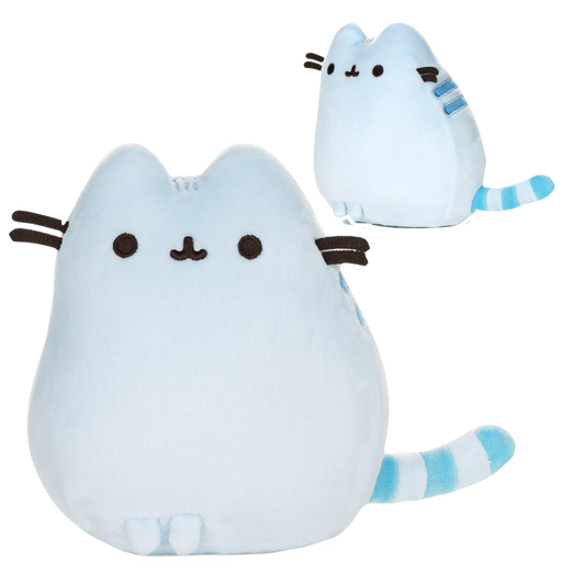 Blue Pusheen Squisheen Pet Pose, 6 IN