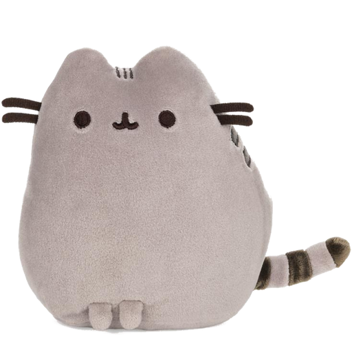Grey Pusheen Squisheen Pet Pose, 6 IN