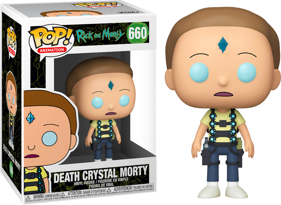 Death Crystal Morty -  Rick and Morty Vinyl Figure Funko Pop!