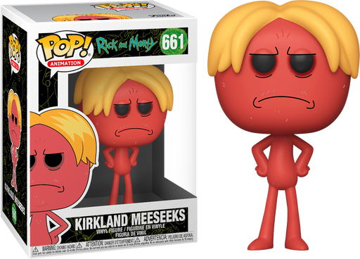 KIRKLAND MEESEEKS - RICK AND MORTY Funko Pop! Vinyl Figure