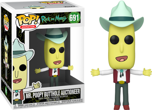 Mr. Poopy Butthole Auctioneer