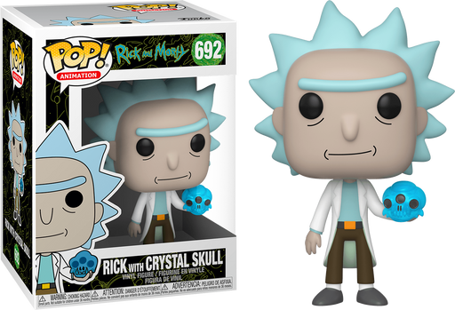 Rick with Crystal Skull -  Rick and Morty Vinyl Figure Funko Pop!