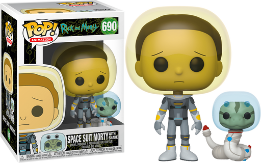 Morty in Space Suit with Snake -  Rick and Morty Vinyl Figure Funko Pop!