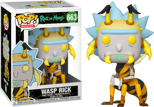 Wasp Rick Pop! Rick and Morty - Funko Pop! Vinyl Figure
