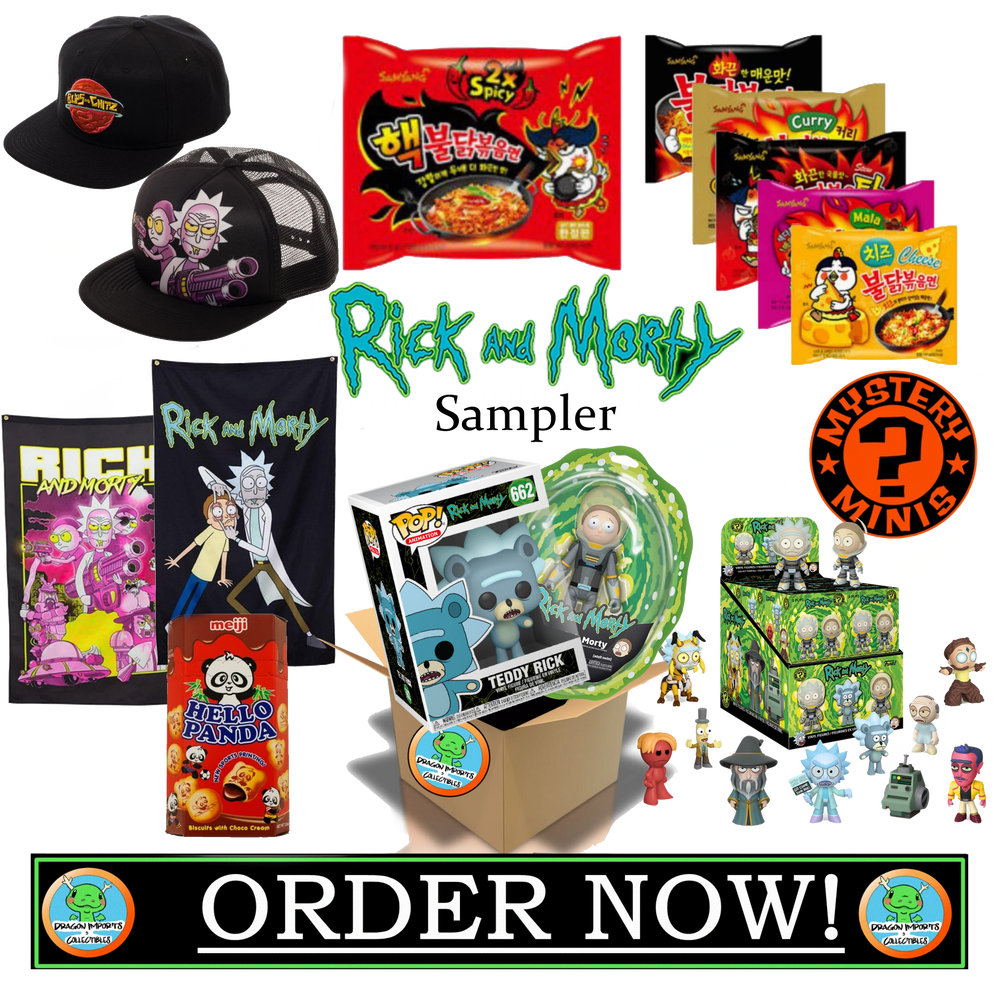 Rick and Morty Sampler Box! w/figure! ($48 VALUE!)