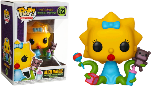 Alien Maggie - The Simpsons Tree-house Of Horror Pop! Vinyl