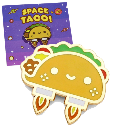 SPACE TACO - ENAMEL PIN