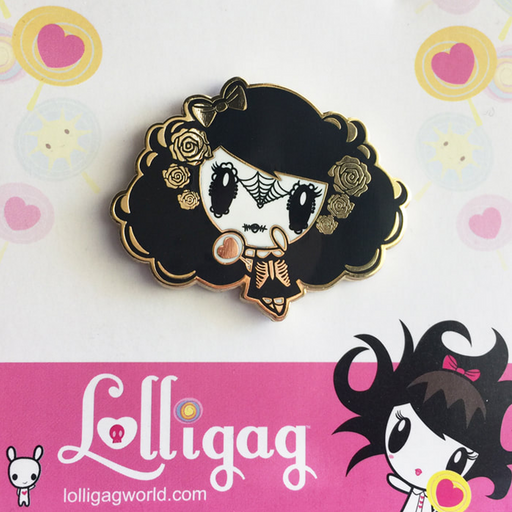Day of the Dead Lolligag - ENAMEL PIN