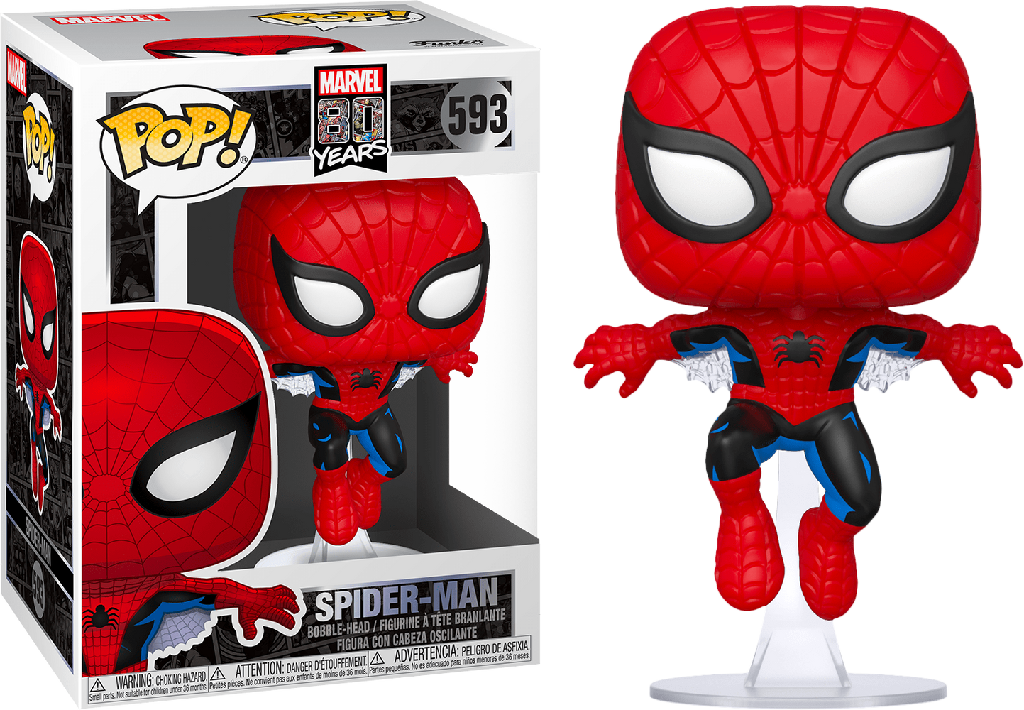 Spider-Man: 80th Anniversary Pop! Vinyl Figure