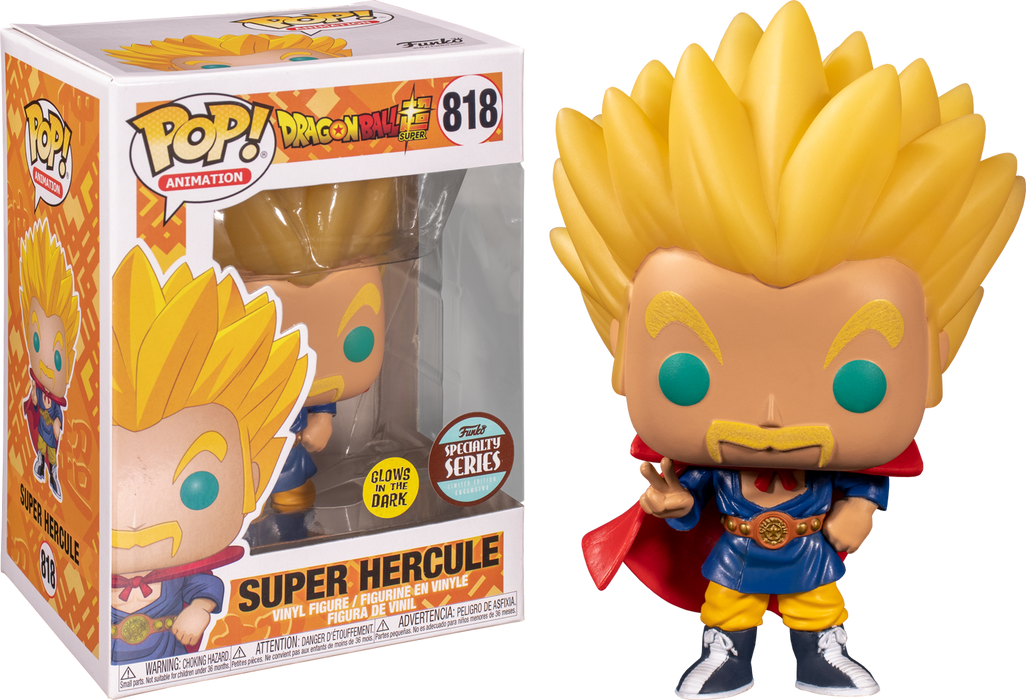 Dragon Ball Super - Hercule Super Saiyan Glow in the Dark Pop! Vinyl Figure