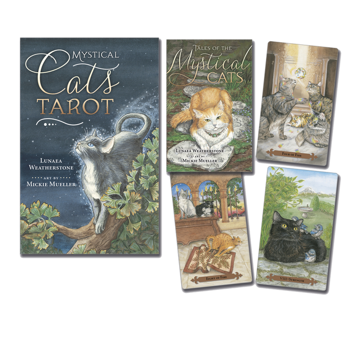 Mystical Cats Tarot - BY LUNAEA WEATHERSTONE, MICKIE MUELLER