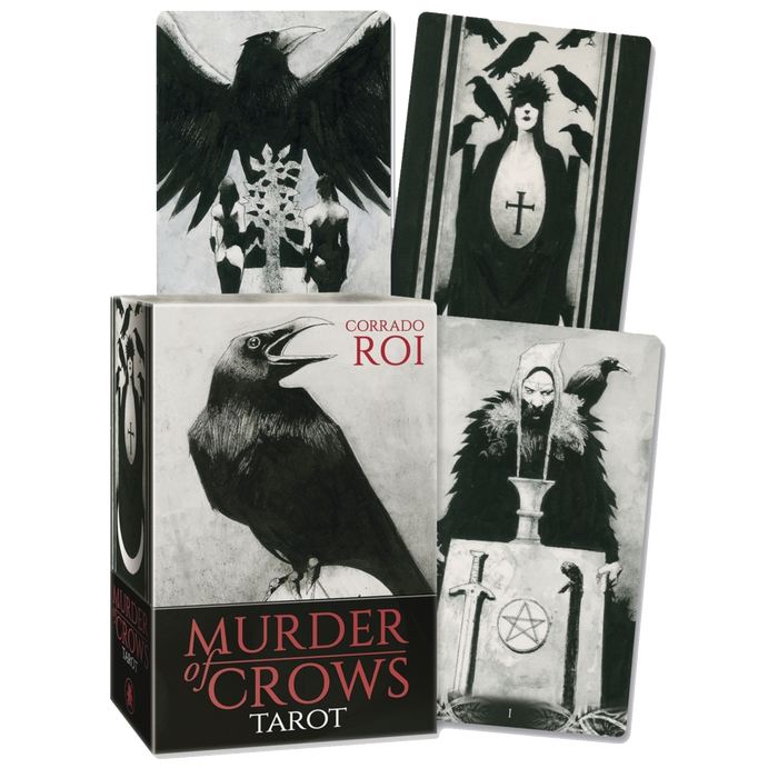 Murder of Crows Tarot - BY CORRADO ROI, CHARLES HARRINGTON