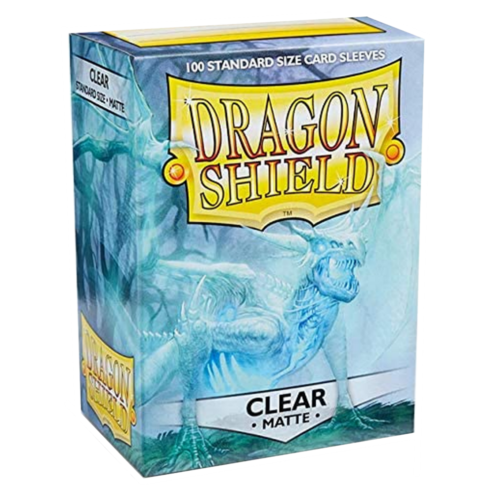 Clear Matte - Dragon Shield Card Protectors Sleeves