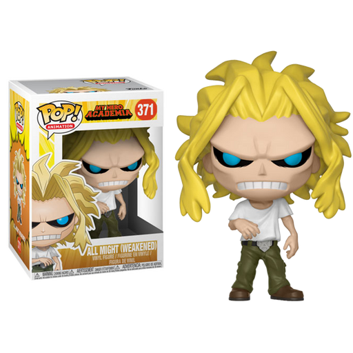 All Might (Weakened)-  My Hero Academia Pop! Vinyl Figure