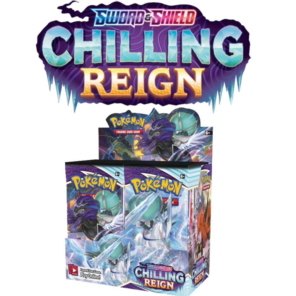 **PRERELEASE** Pokemon TCG (Sword and Shield)  Chilling Reign, 36 Pack Booster Box