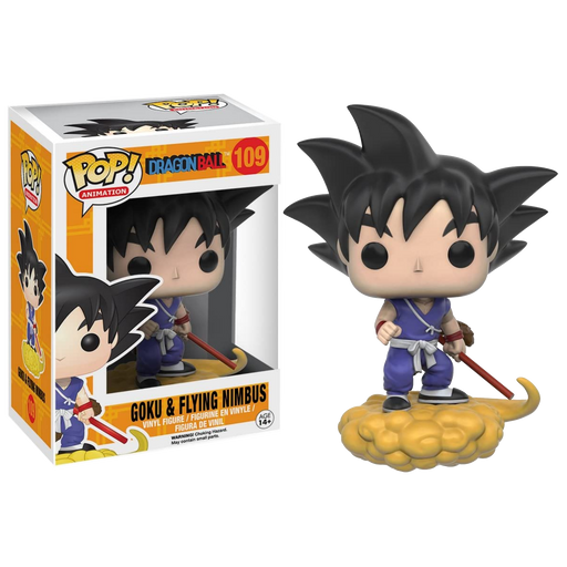 Goku & Flying Nimbus -  Funko Pop! Dragon Ball Vinyl Figure