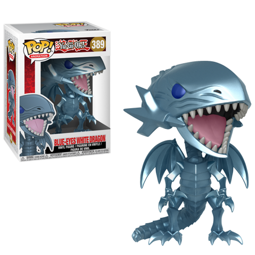Blue-Eyes White Dragon: Yu- Gi-Oh - Funko Pop!