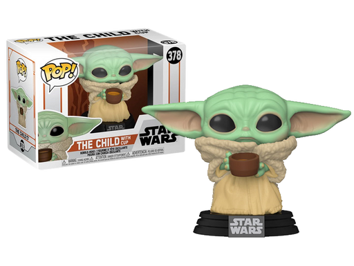 The Child with Cup – Star Wars: The Mandalorian Funko Pop!