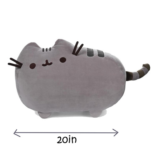 PUSHEEN SQUISHEEN CLASSIC POSE, 20 IN - Pusheen