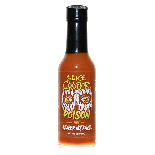 Alice Cooper Poison Reaper Hot Sauce