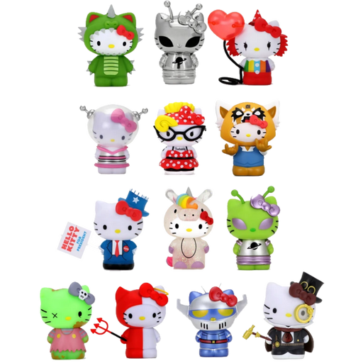 HELLO KITTY TIME TO SHINE VINYL MINI SERIES