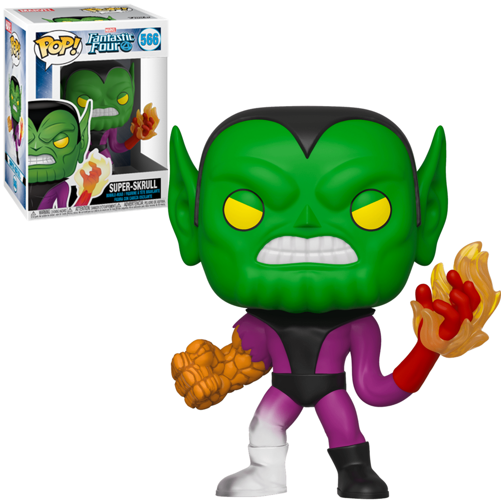 Super-Skrull -  Fantastic Four Pop! Vinyl Figure