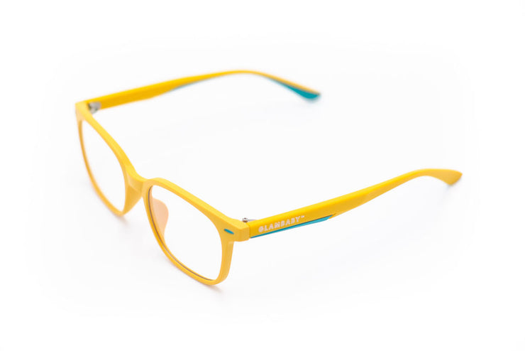 GlamBaby Parker glasses- Yellow