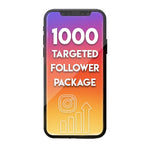 1000 Targeted Monthly Instagram Followers