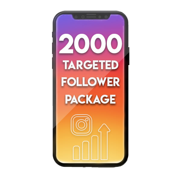 2000 Targeted Instagram Followers Per Month