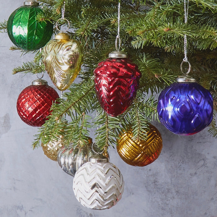 Glass Ornament Set