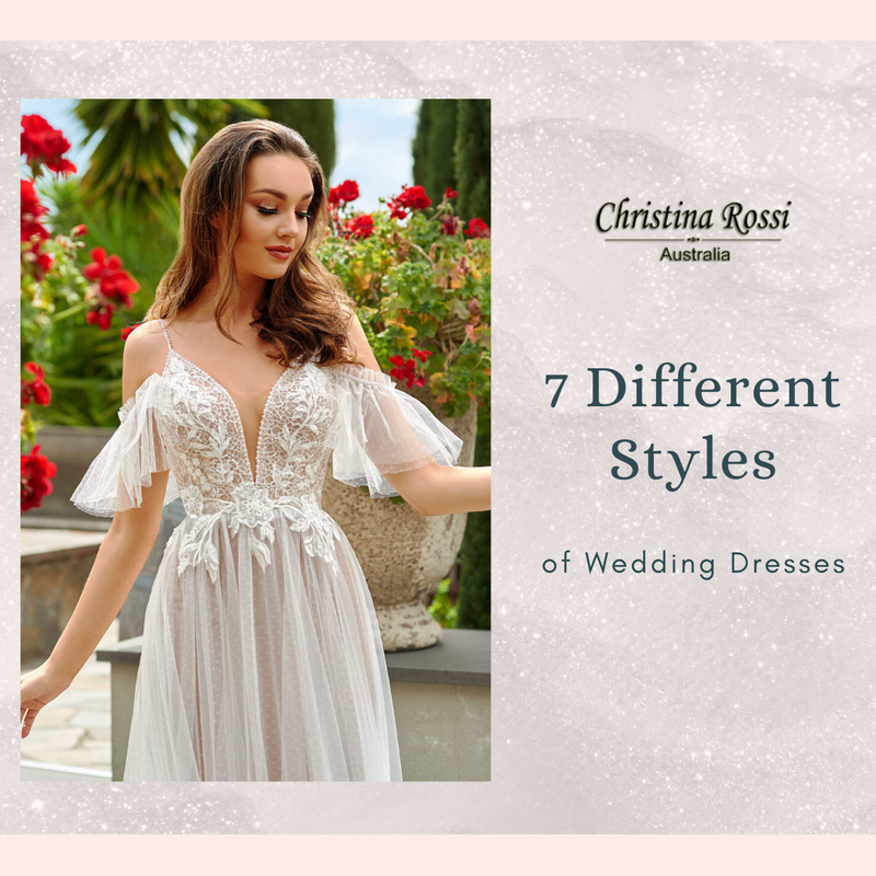 7 Different styles of Wedding Dresses