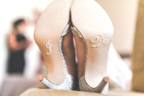 Bridal shoes that will match your wedding gown