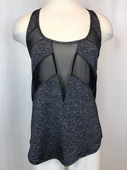 LULULEMON Women Size M Charcoal Workout Top