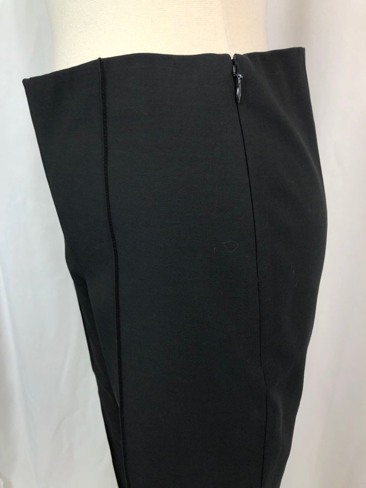 THEORY Women Size 6 Black Legging